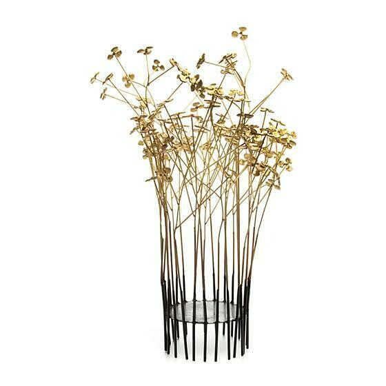 In bloom candle holder large