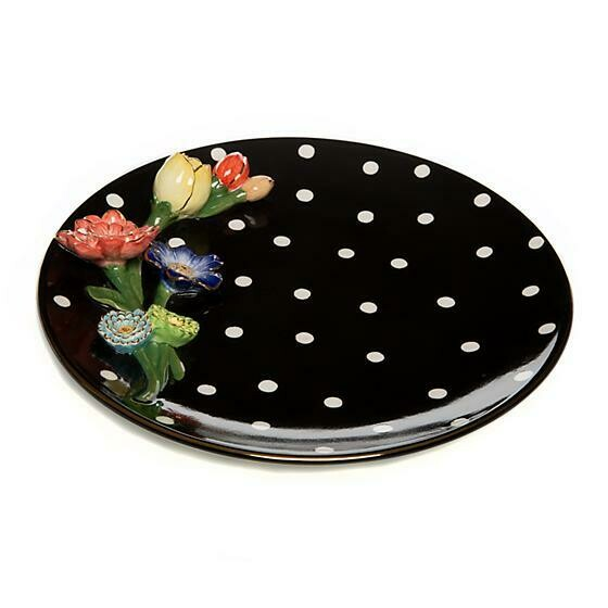 Floradot Platter