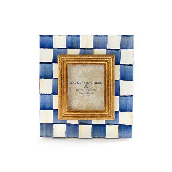 Royal check frame 2.5x3