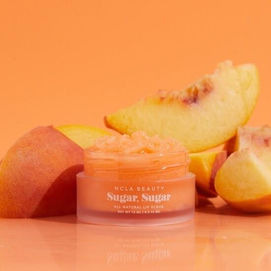 Sugar sugar peach lip scrub