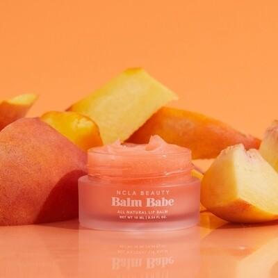 Balm babe peach lip balm
