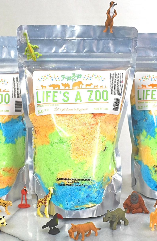 Kids bath salts life's a zoo