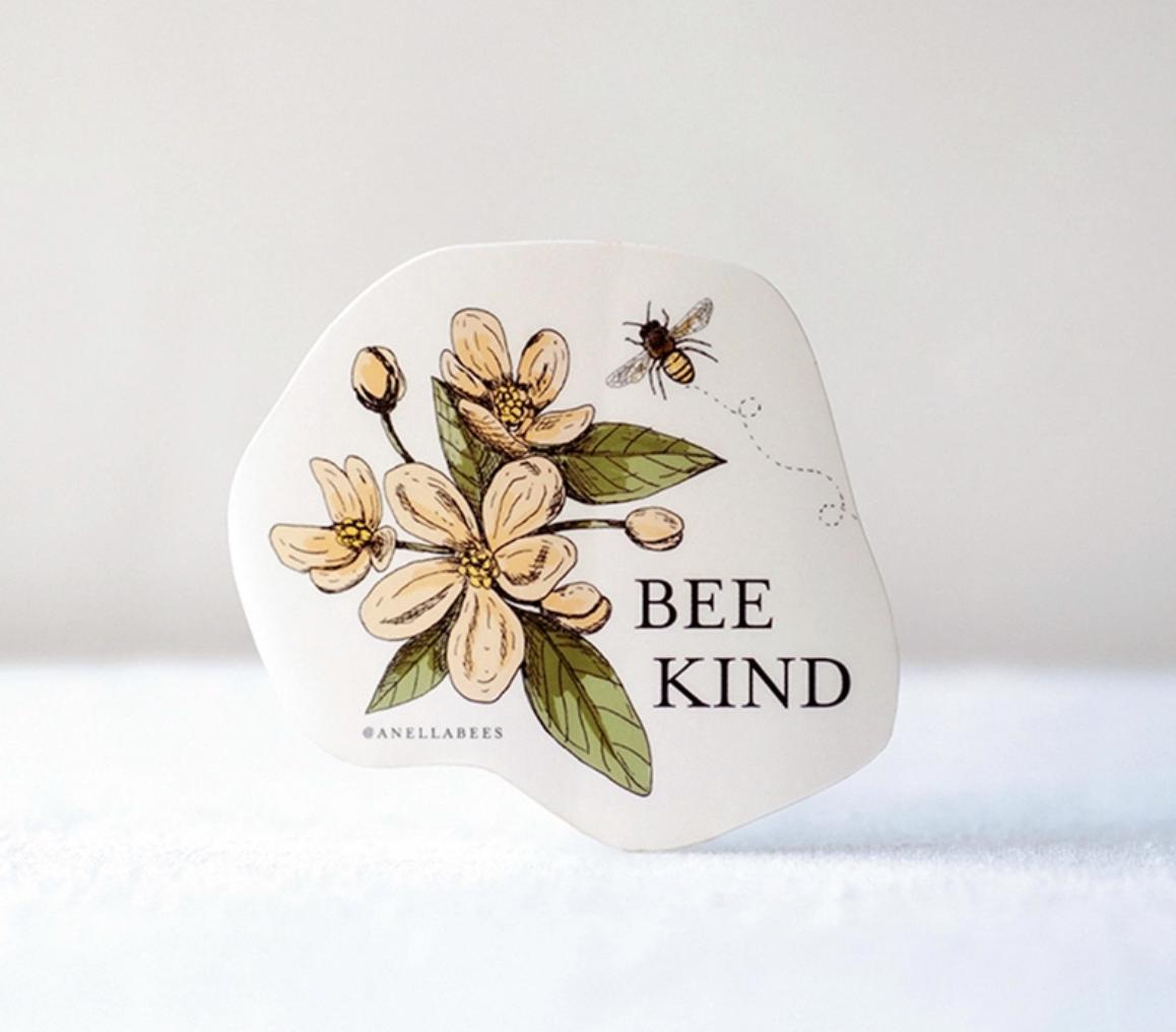 Sticker bee kind