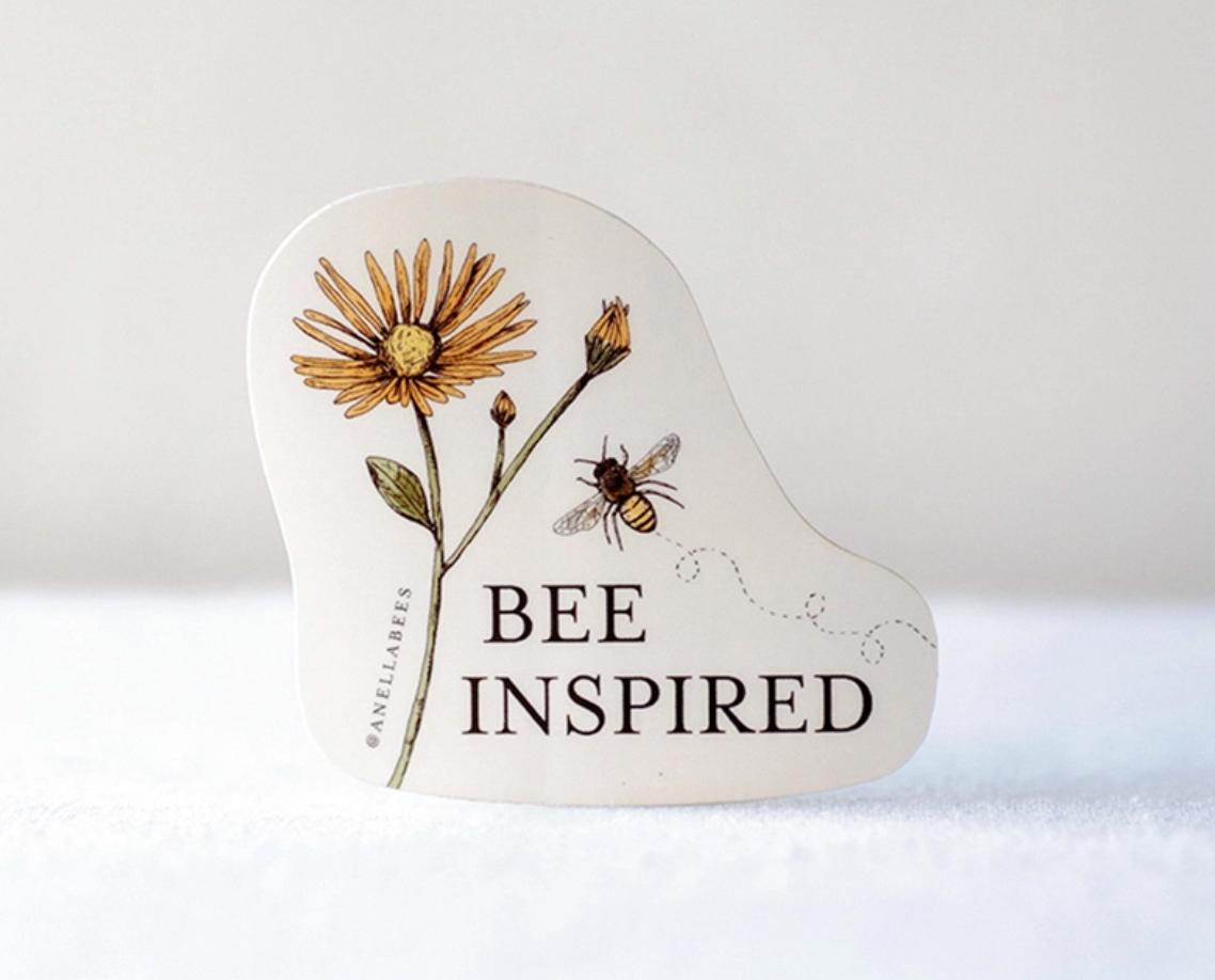 Sticker bee inspired
