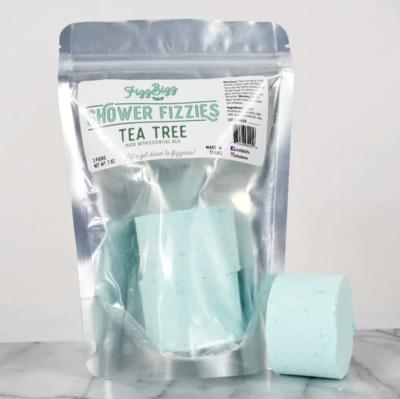 Shower melts tea tree fizzies
