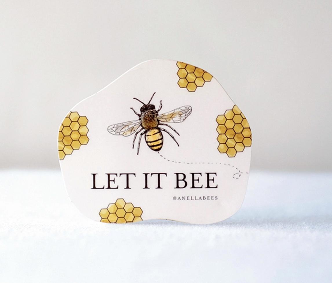 Sticker let it bee