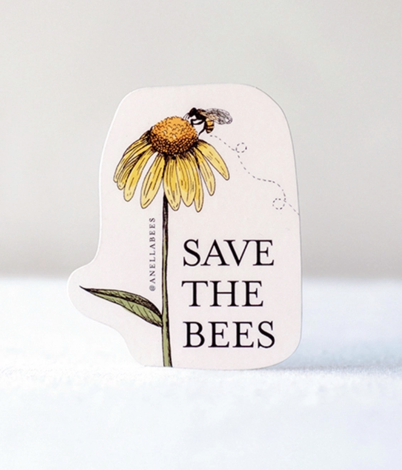 Sticker save the bees