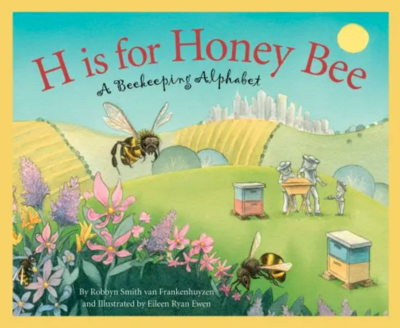 H is for honey bee book