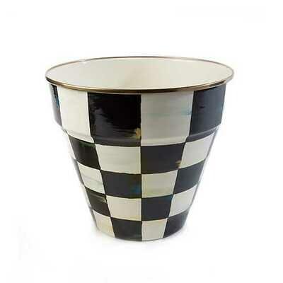 CC Enamel Garden Pot - Large