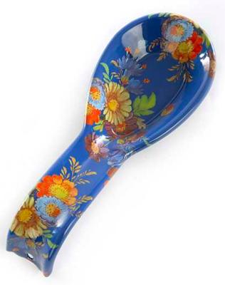 Flower Market Spoon Rest Lapis