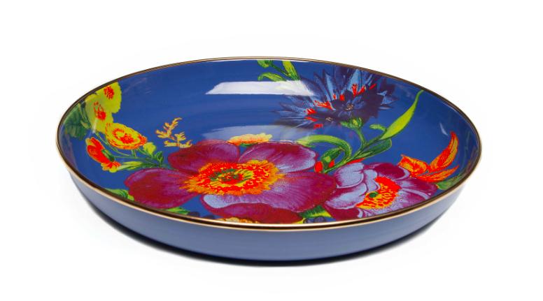 Flower Market Abundant Bowl Lapis