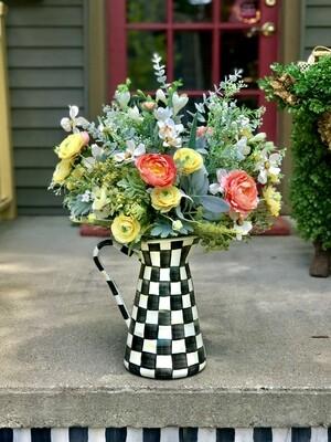 CC Practical Pitcher Flower Arrangement