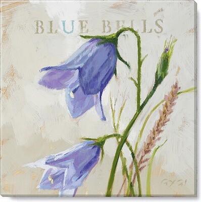 Blue Bells Giclee Wall Art