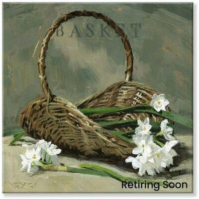Basket Giclee Wall Art