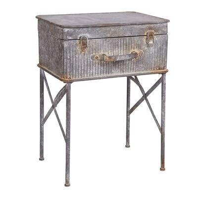 Devon Suitcase Side Table