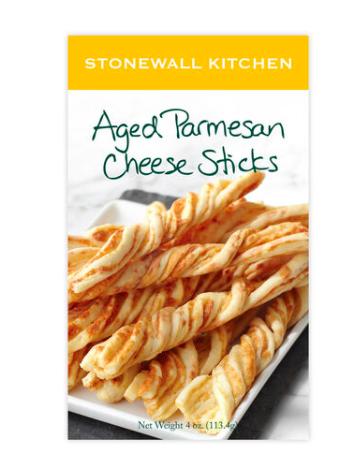 Aged parmesan cheese sticks