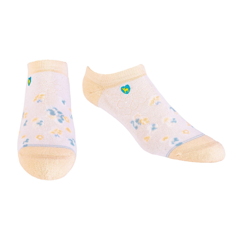 Pudus Socks Spring Peach Ank S/M