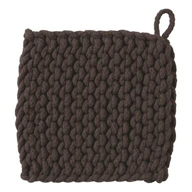 Crochet Trivet Black