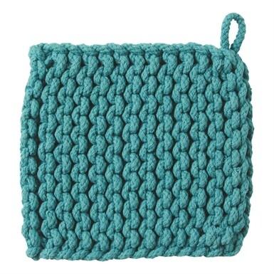 Crochet Trivet Turquiose