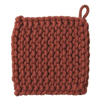 Crochet Trivet Chestnut