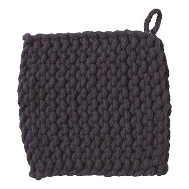 Crochet Trivet Midnight Blue