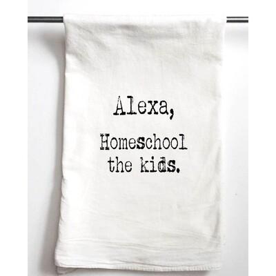 Gift Towel Alexa Homeschool The Kids