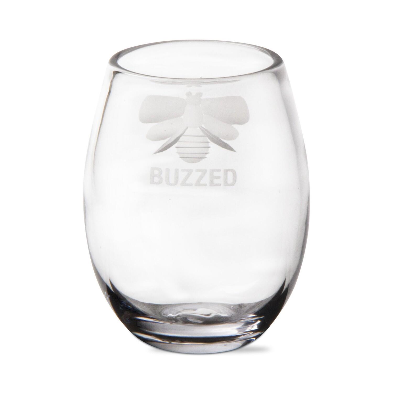 Buzzed Stemless Wine Glass