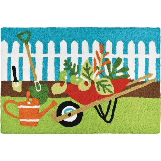Accent Rug Time to Garden
