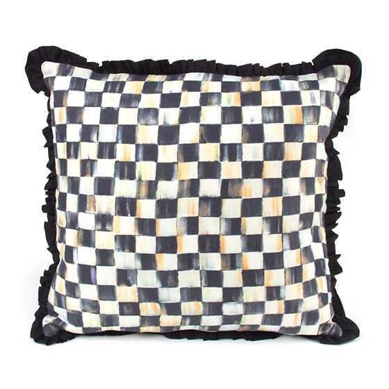CC Ruffled Square Pillow