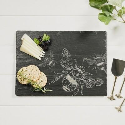 Bee Slate Cheese Board