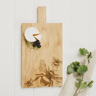 Bee Large Oak Serving Paddle