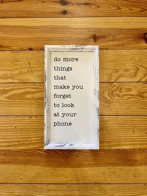 Do More Things Frame 8x15