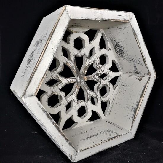 Honeycomb Floating Shelf