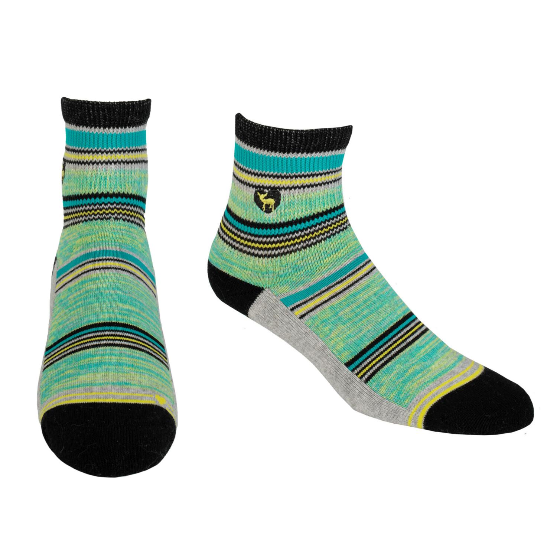 Pudus CC Socks Stripe Grey Q M/L