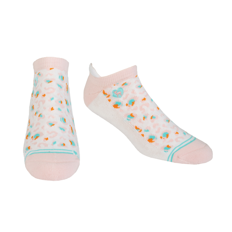 Pudus CC Socks Leopard Pink Ank S/M