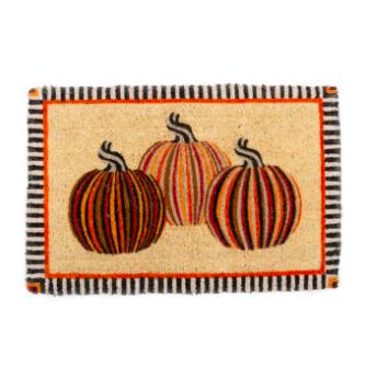 Autumn Pumpkins Entrance Mat