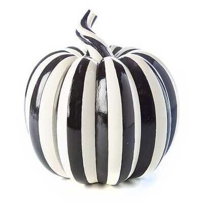 Courtly Pinstripe Pumpkin - Small