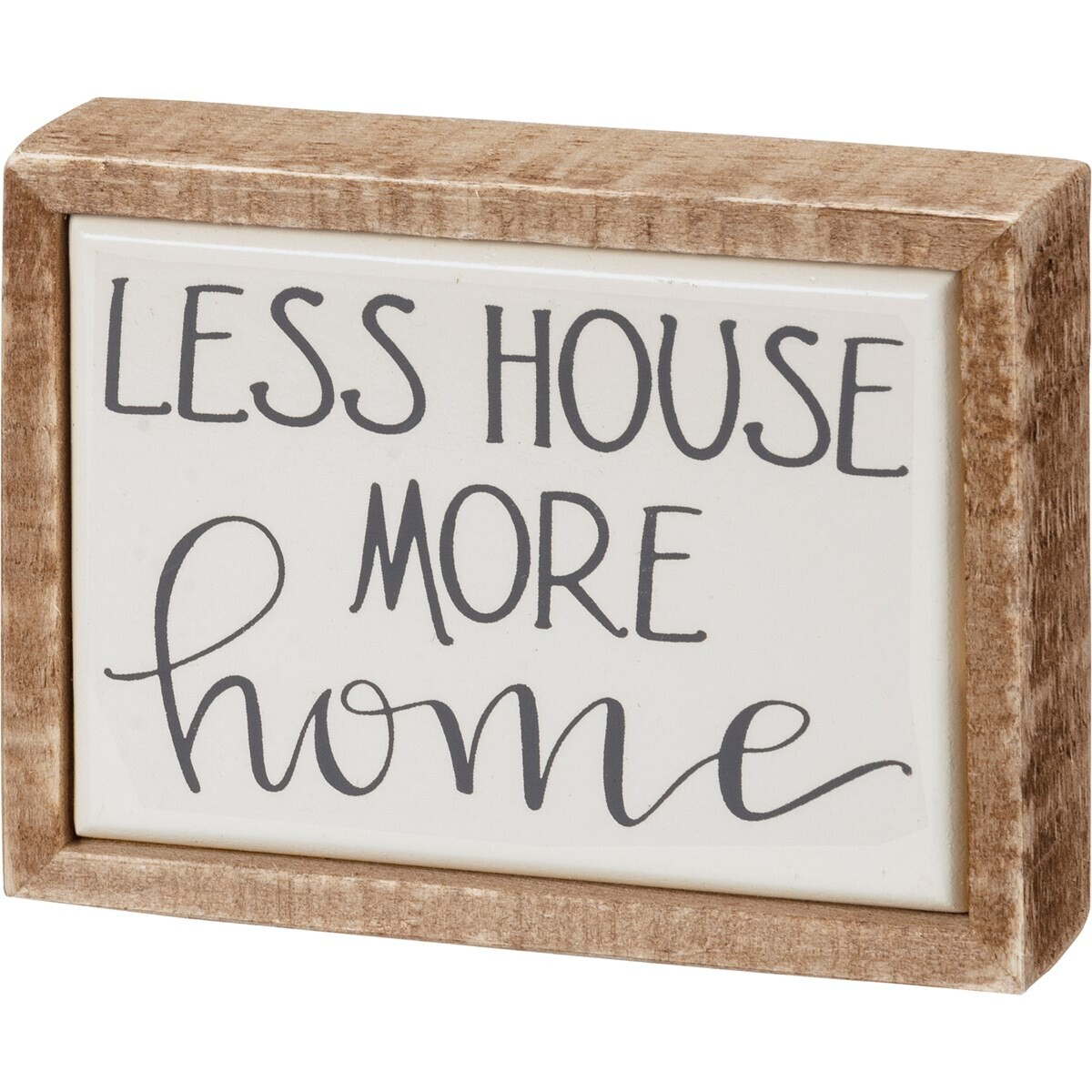 Box Sign Mini - More Home