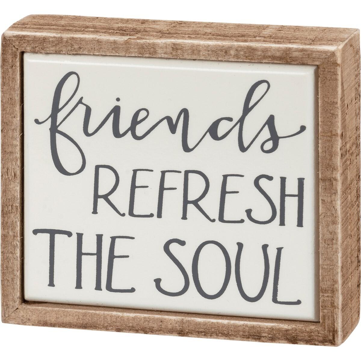 Box Sign Mini - The Soul