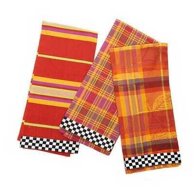 Falling Leaves Dish Towels - Set of 3