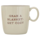 Stoneware Mug - Grab a Blanket: Get Cozy