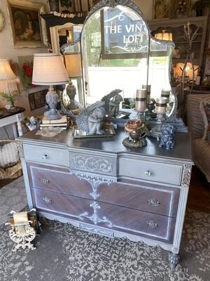 Exquisite Dresser with Mirror