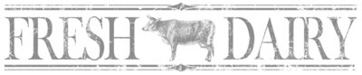 Fresh Dairy Image Transfer  ~ 1st gen. IOD 12X60