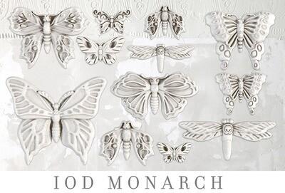 "Monarch   6"" X 10 ""  IOD Decor Mould"
