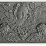 2021 Retired IOD Decor Mould  ~ Classic Cherubs   6