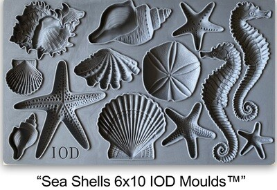 BRAND NEW Decor Mould Sea Shells  6