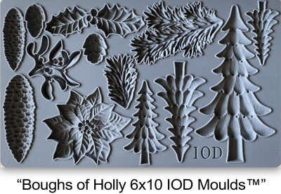 BRAND NEW Decor Mould Boughs of Holly   6