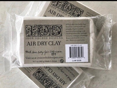 Air Dry Clay  IOD