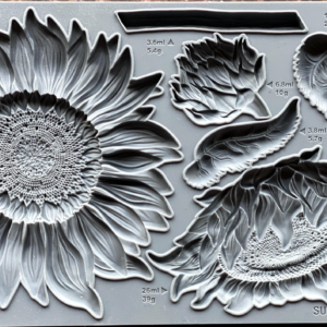 """""""Sunflowers""""  ~ 2021 NEW MOULD    6"""" x 10"""""""