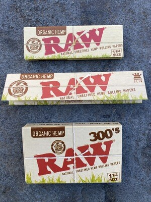 Organic Raw Papers